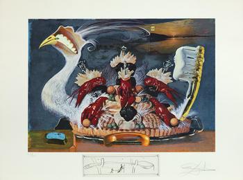 Salvador Dalí, 'Soft Watches Half Asleep (Les Montres Molles 1/2 Sommeil),' 1971, Heather James Fine Art: Curator's Choice