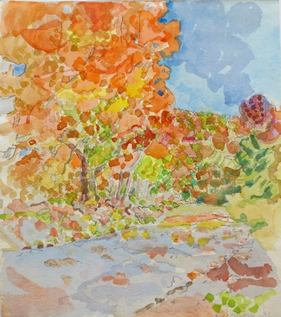 , 'Fall Color, Ridgefield, Connecticut (Sally),' 1963, Gallery Neptune & Brown