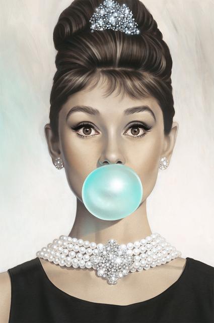 , 'Audrey Hepburn, Tiffany Blue,' 2015, Maddox Gallery