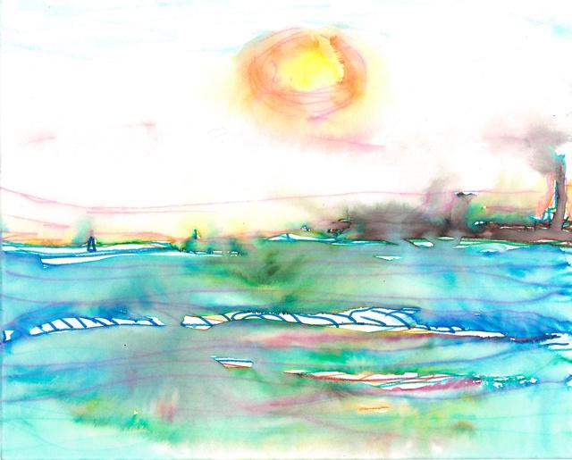 , 'Sunset, St Kilda beach, Melbourne,' 2016, Mannerheim Gallery