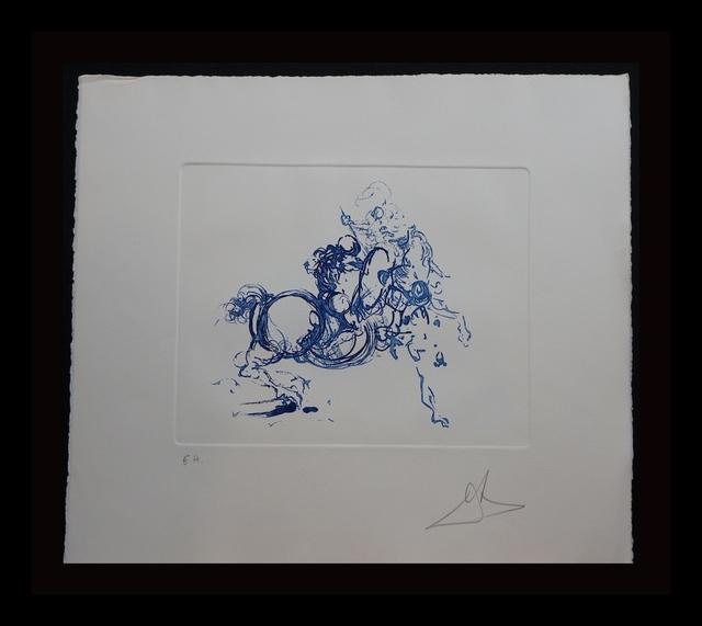 Salvador Dalí, 'Jinete (Ultramarine)', 1978, Fine Art Acquisitions