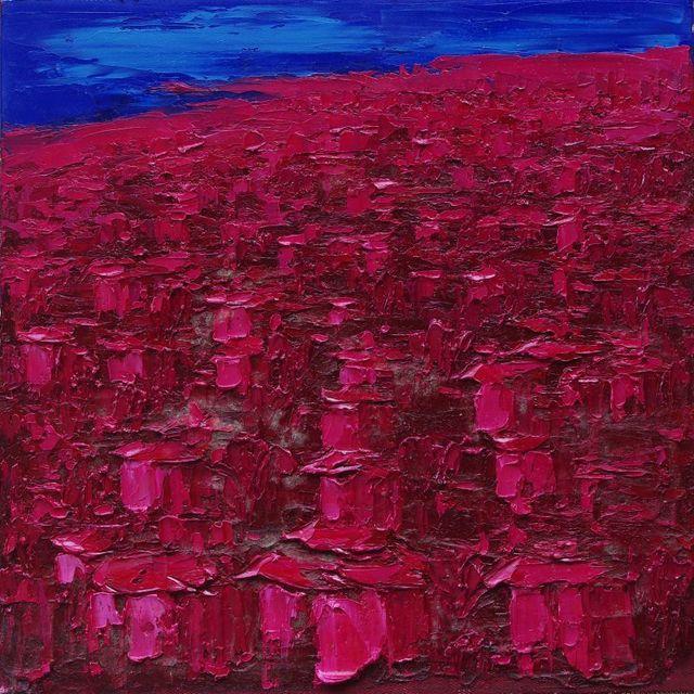 Yu Nancheng, 'Red Houses in Qingdao ', 2014, Ode to Art