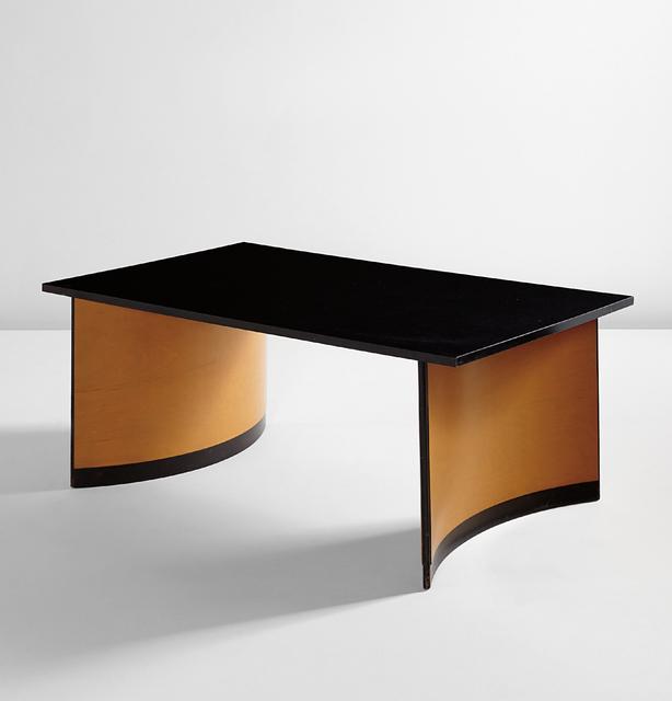 Kem Weber, 'Coffee table from Disney Studios, Burbank, California', ca. 1944, Design/Decorative Art, Painted wood, birch plywood, Phillips