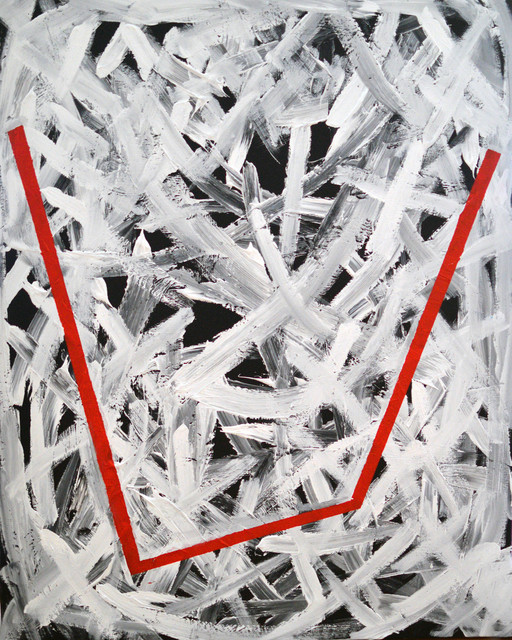, 'Untitled (White, Red & Black),' 2016, Artig Gallery