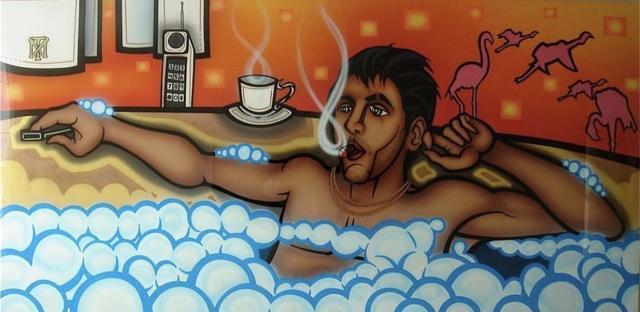 "Alex Yanes, 'Al Pacino (Scarface) 1""', 2008, Robin Rile Fine Art"