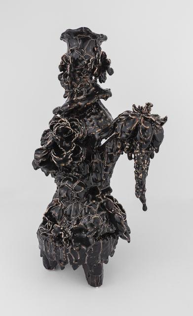 , 'Candelabra (Black Crackle Pop),' 2017, Conduit Gallery