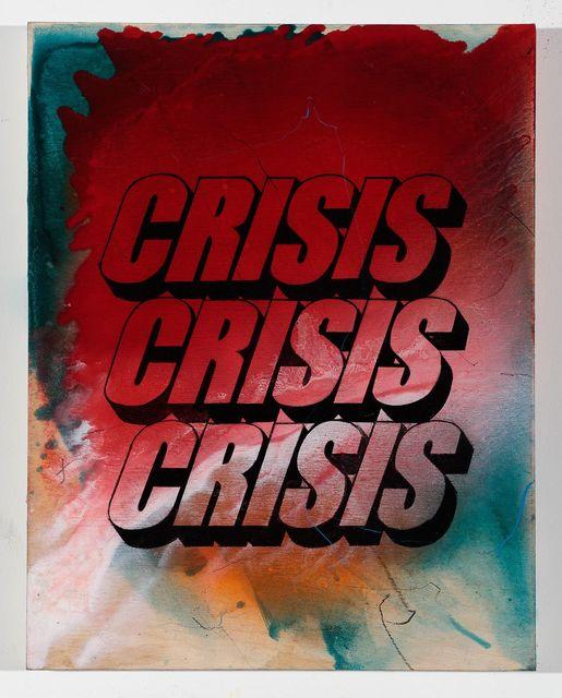 , 'Crisis (Study),' 2015, Gavlak