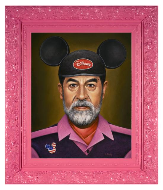 , 'Saddam Goes to Disney,' 2016, Spoke Art