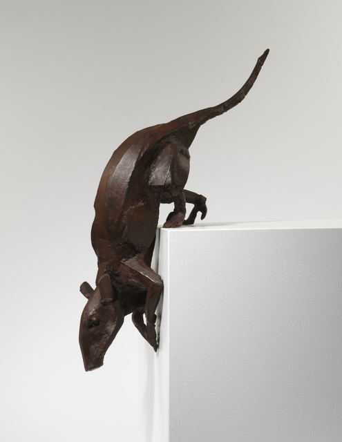 Sophie Dickens, 'Rat 10, On a Corner', 2014, Sculpture, Bronze, Sladmore