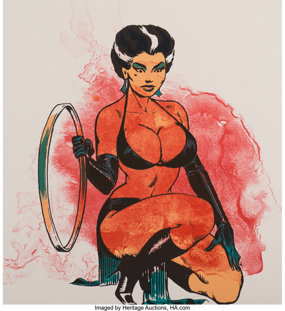 Allen Jones, 'Woman-Splash (Kneeling Woman)', 1970, Heritage Auctions