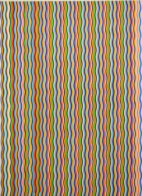 , 'Stripe Painting-Purple,' 2017, Aki Gallery