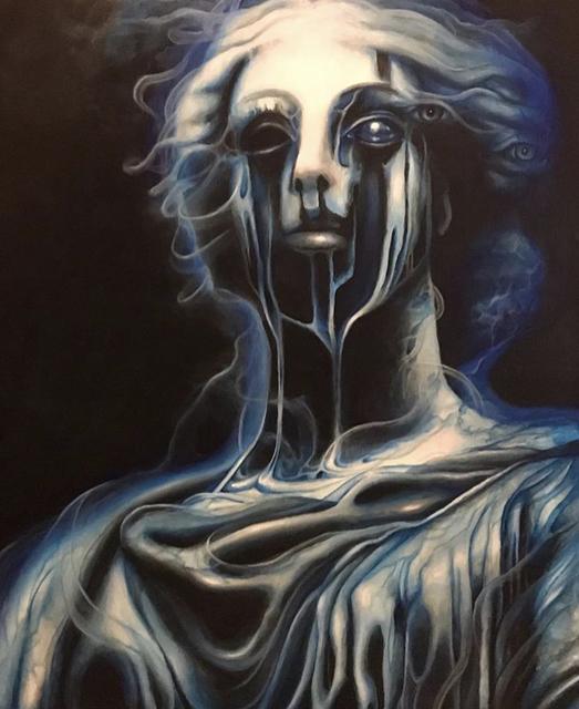 , 'Blue,' , Corvidae Gallery