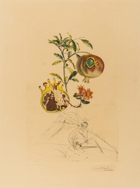 Salvador Dalí, 'Grenade et l'ange (Field 69-11L; M&L 355e)', 1969, Forum Auctions
