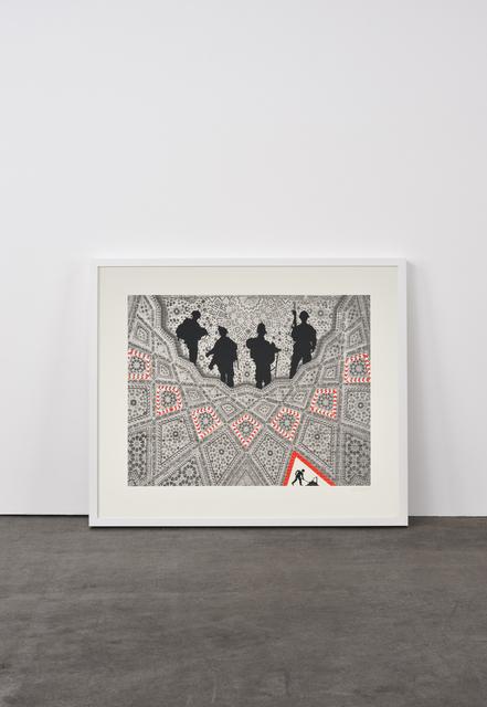 Abdulnasser Gharem, 'Men at work', 2010, Weng Contemporary