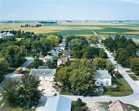, 'Century Wind Project, Blairsburg, Iowa, Série American Power,' 2008, Galerie Les filles du calvaire