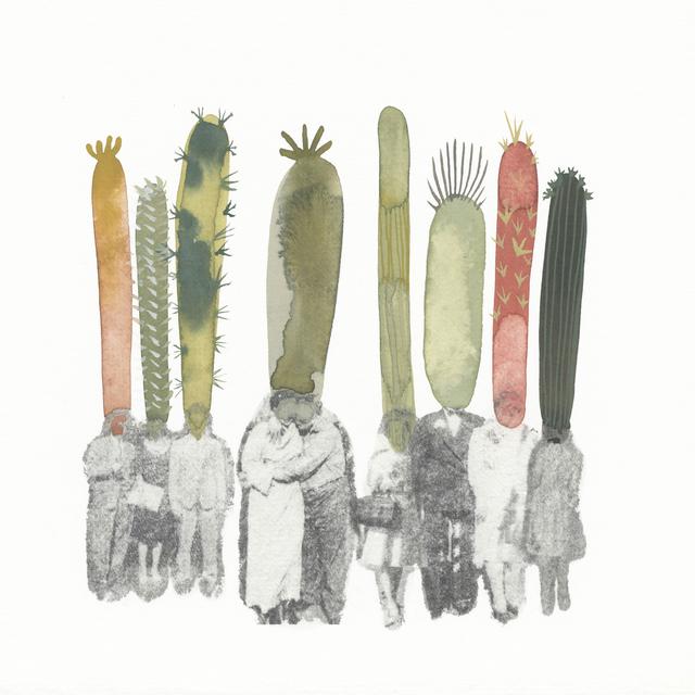, 'How They Met (Cactus People 3),' 2016, Open Mind Art Space