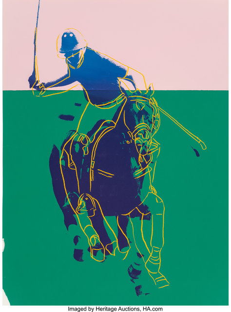 Andy Warhol, 'Polo (Pink and Green)', 1985, Heritage Auctions