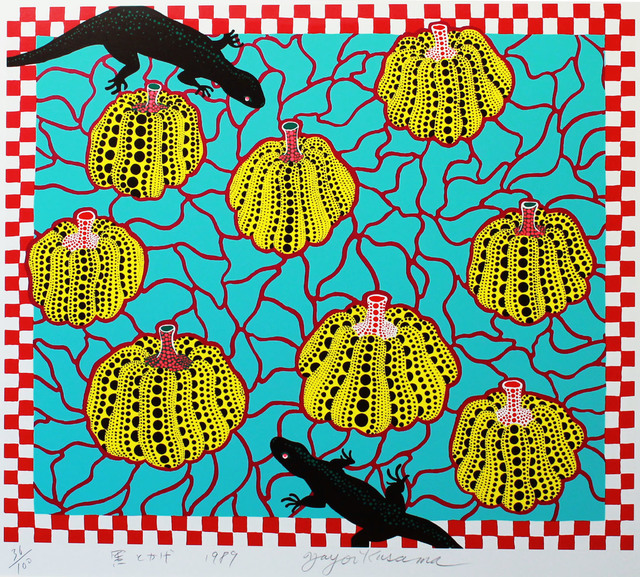 Yayoi Kusama, 'Black Lizards', 1989, MAKI