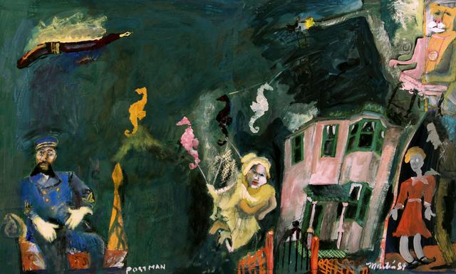 James Martin, 'Postman', 1984, Foster/White Gallery