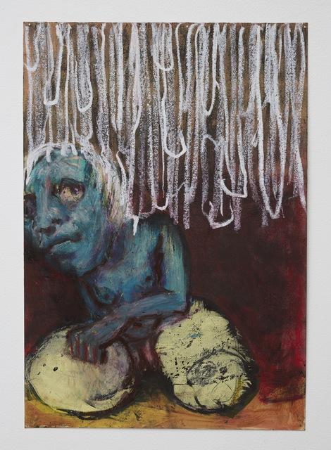 , 'Earthworm woman,' 2016, Klowden Mann