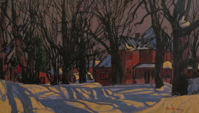 , 'Untitled (snowy street scene),' , Arctic Experience McNaught Gallery