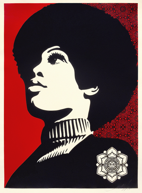 Shepard Fairey, 'Panther Power', 2007, Tate Ward Auctions