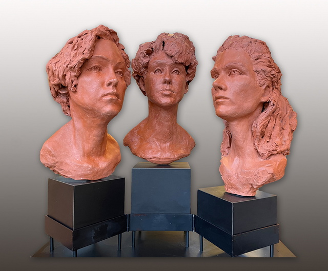 Paula Stern, 'Have you Heard', 2020, Sculpture, Terracotta, Zenith Gallery