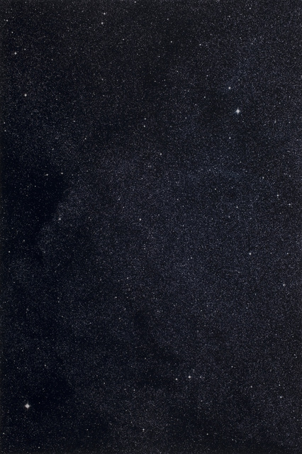 , '17h 16m/-45°,' 1990, Huxley-Parlour