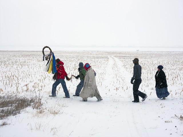 Mitch Epstein, 'Standing Rock Prayer Walk, North Dakota 2018', 2018, Sikkema Jenkins & Co.