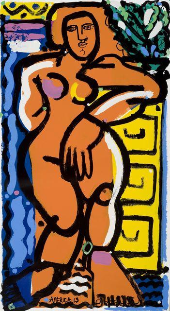 , 'Woman & Yellow File Cabinet,' , Joanne Artman Gallery
