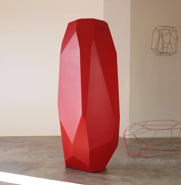 , 'RockStone 198 red,' 2014, SETAREH GALLERY