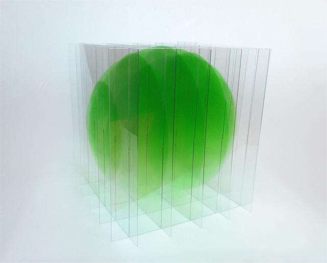 , 'Vert dégradé,' 2018, Galerie La Ligne