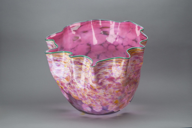 Dale Chihuly, 'Large Hand Blown Glass Sculpture Macchia Basket Signed, Dated', 1984, Modern Artifact