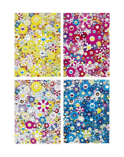 Takashi Murakami, 'Four Prints by the Artist', 2012, Christie's