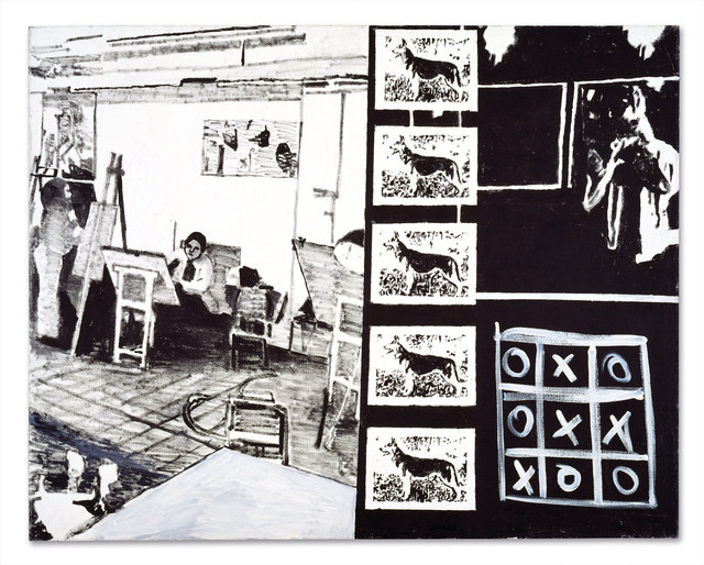 David Reeb, 'Life class', 1995, Galerie Michael Hasenclever