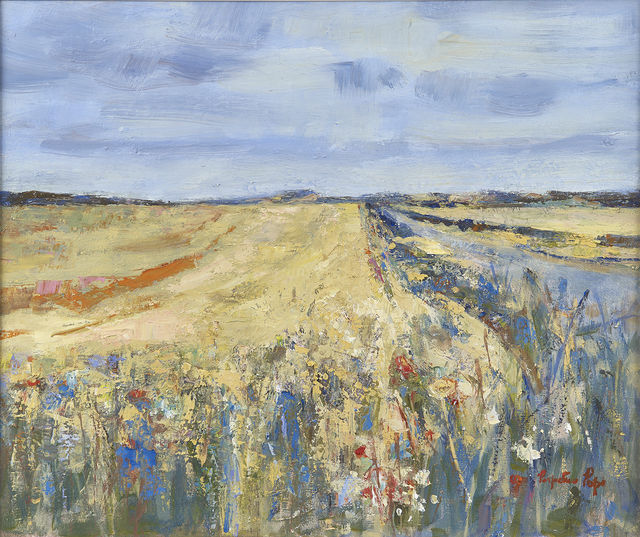 , 'Edge of Field, East Lothian,' 2004, The Scottish Gallery