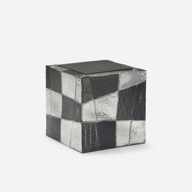 Paul Evans, 'Argente cube table, model PE 37', c. 1965, Wright