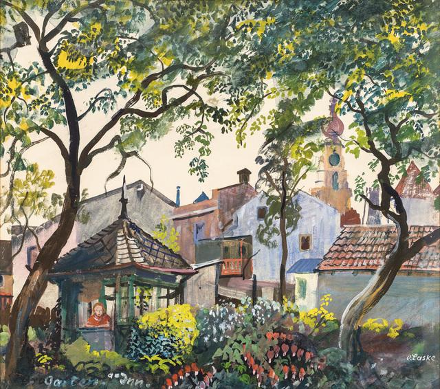 , 'Garden besides the Inn,' ca. 1945, Galerie Kovacek