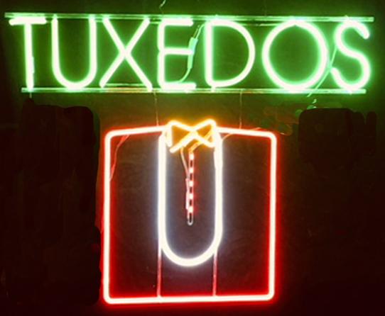 , 'Tuxedos ,' 1970's, InLiquid
