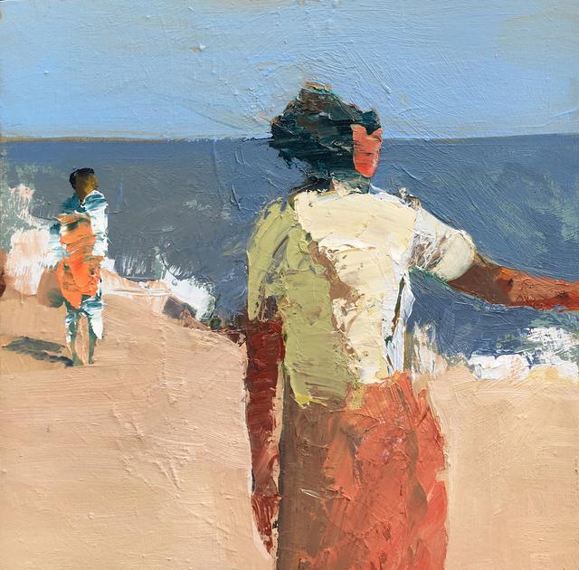 , 'Orange Towel,' 2015, Sue Greenwood Fine Art