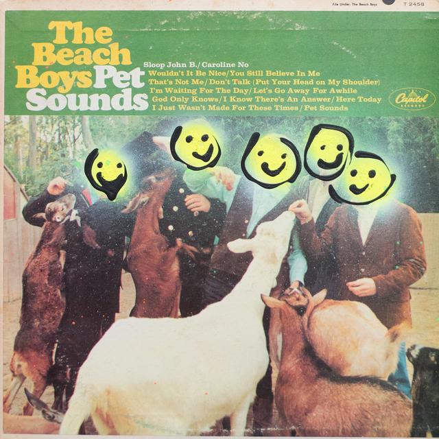 , 'The Beach Boys - Pet Sounds,' 2018, ABXY