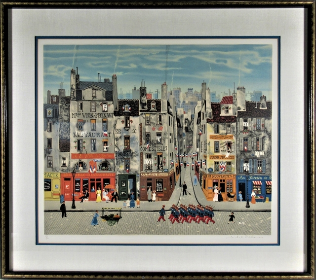 Michel Delacroix, 'La Parade', 1978, Joseph Grossman Fine Art Gallery