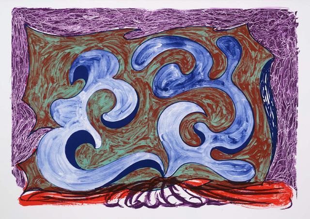 David Hockney, 'Rampant', 1991, Kenneth A. Friedman & Co.