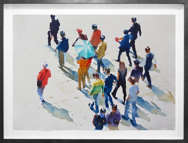 , 'The Green Umbrella,' 2019, M1 Fine Art
