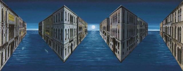 Patrick Hughes, 'Moonshine', 2009, Galerie Boisseree