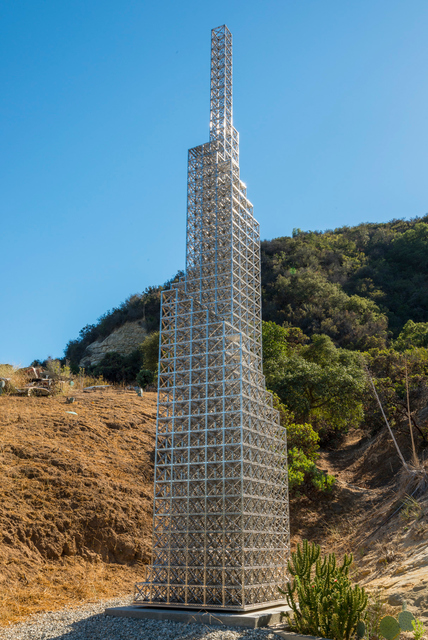 , '40 Foot Stepped Skyscraper,' 2011, Gagosian