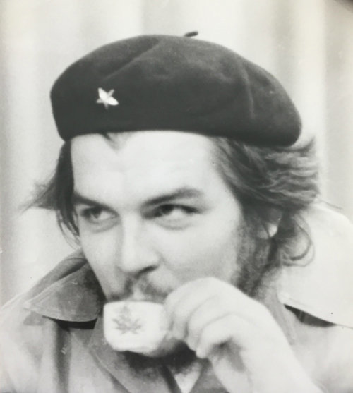, 'Che Sipping Coffee,' 1959, Rebekah Jacob Gallery