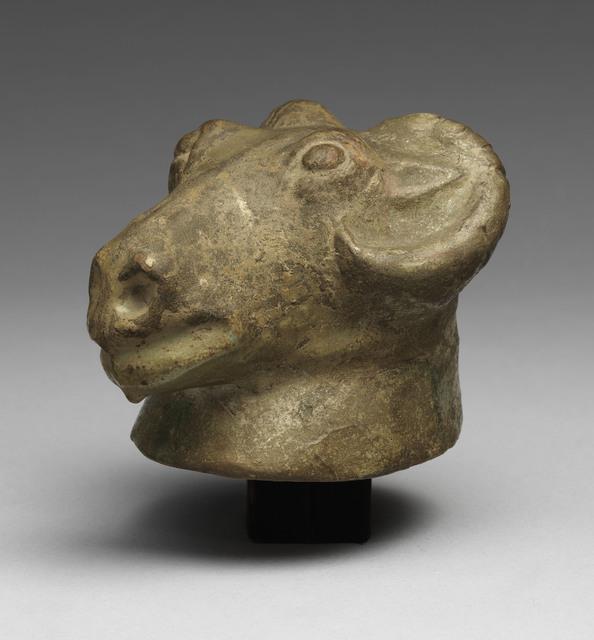 , 'Ram's Head,' Han dynasty, The Metropolitan Museum of Art