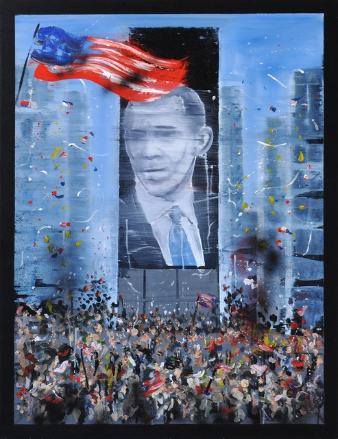 , 'November 4th 2008 - Obama,' 2015, Mazel Galerie