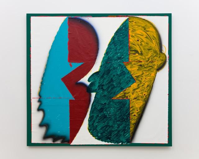 , 'Lady Chatterley´s Lover´s Lovers (Green),' 2016, Galerie Lisa Kandlhofer